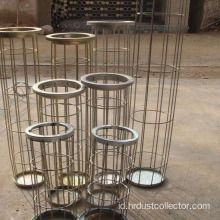 saringan bag filter debu stainless steel dengan venturi